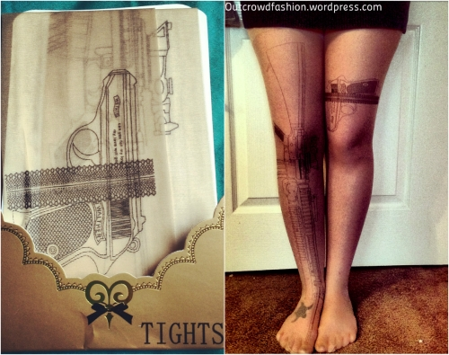 Tights collage