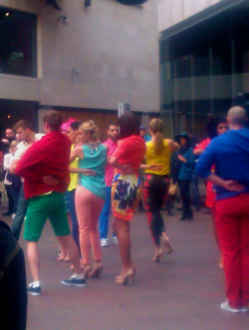 fashion flashmob
