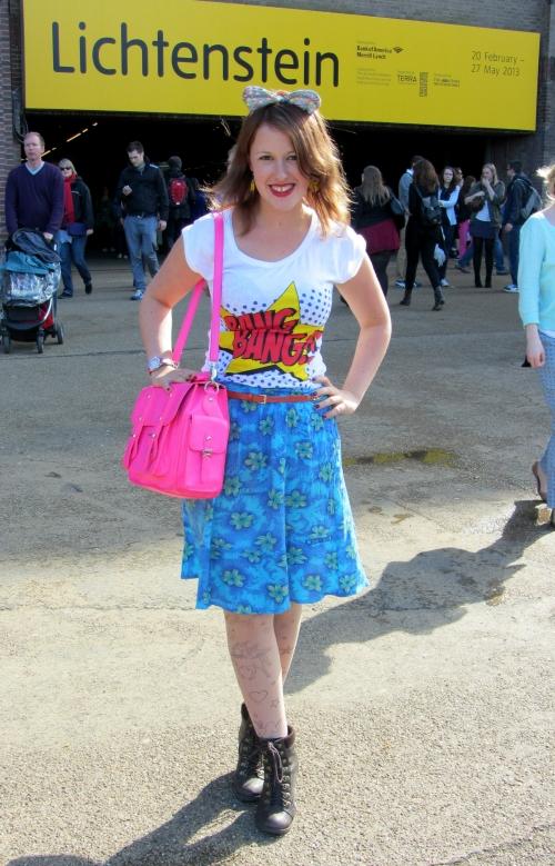 Lichtenstein outfit